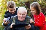 Too old to use a tablet?