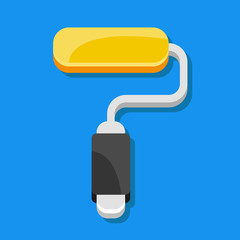 Vector Paint Roller Icon