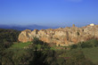 The village of Pitigliano in Tuscany