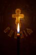 Библия и свеча