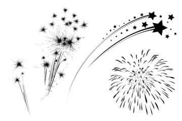 Feuerwerk Set