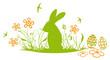 Ostern, Frühling, Osterhase, Ostereier, Schwalben