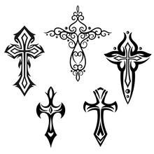 Croix Ensemble, croix, foi, symbole, religion