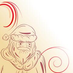Decorazione natalizia Babbo Natale