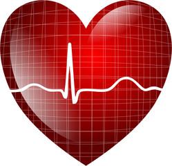 Herz Isoliert EKG