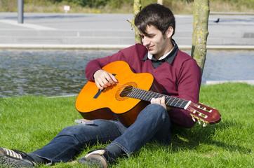 gitarre spielen üben