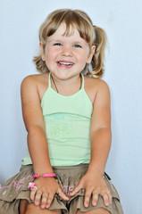funny toddler girl