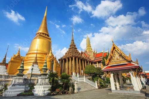 Foto op Aluminium Bedehuis Wat Phra Kaew, Bangkok, Thailand