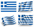 Flag of Greece - Hellenic Republic