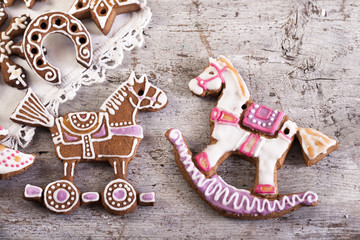 cookies horse