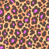 animal spots seamless background