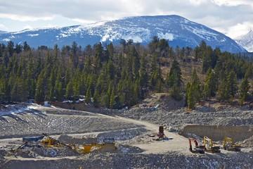 Gold Mine in Colorado