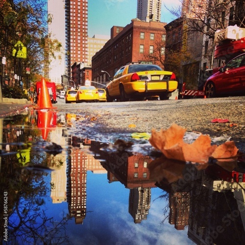 10th Avenue Puddle in NYC