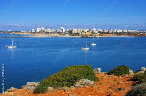 canvas print picture Portimao 01