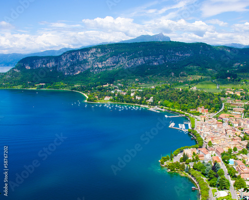 canvas print picture Gardasee -  Garda
