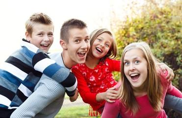 Au pair with children