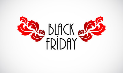 Black Friday vintage background