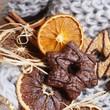 Etoile au chocolat