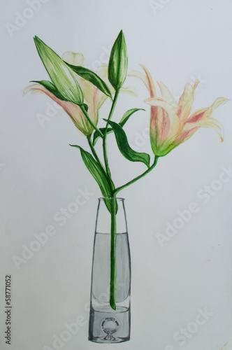 Lilly in vase