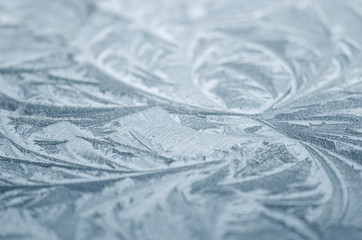 Ice crystal background