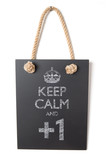 Keep calm and +1 poster