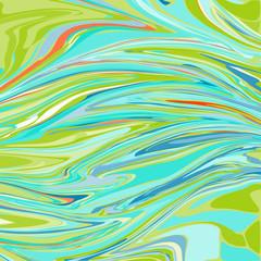 Colorful ebru background