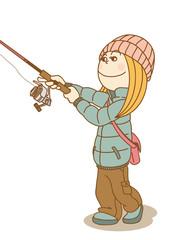 FishingWoman_Cast