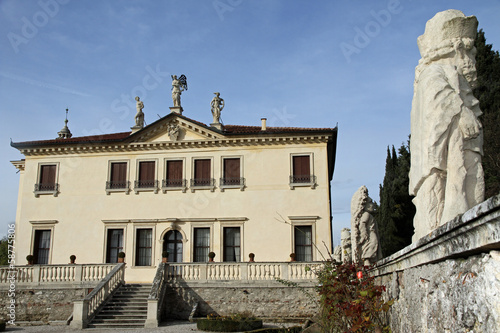 Venetian Villa Valmarana ai nani in the city of Vicenza in Italy