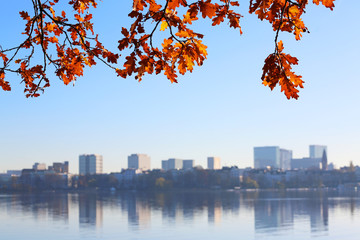 Alster im Herbst