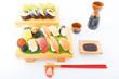 握り寿司と日本酒