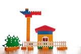 Lego bricks. poster