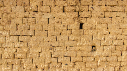Textura de pared barro adobe