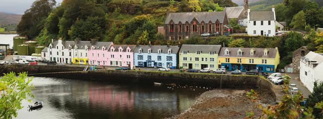 Portree village