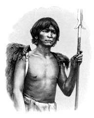 Traditional Indigenous Portrait