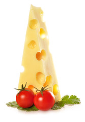 Cuña de queso emmental