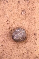 Piedra en el suelo