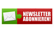 Newsletter abonnieren! Button, Icon
