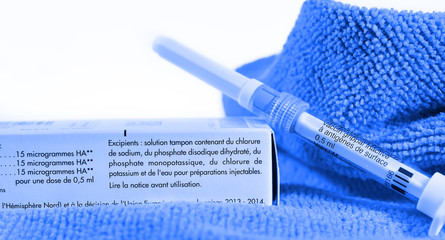 industrie pharmaceutique,vaccin contre la grippe