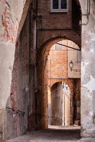 Centro storico di Mondovì, Piemonte © Pixelshop