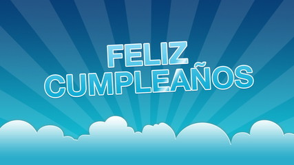 Happy Birthday Advertisement (In Spanish)