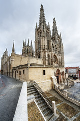 Cathedral of Santa Maria, Burgos,Castill la mancha, Spain.
