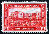 Postage stamp Dominican Republic 1928 Columbus' Fortress