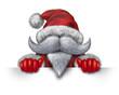 Santa Claus Horizontal Sign