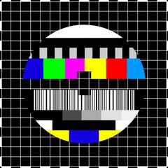 Mire de télévision vintage