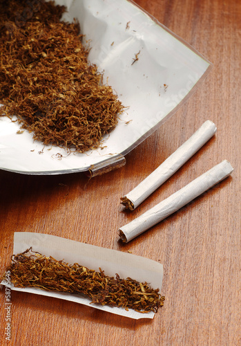 Tobacco and rolled cigarettes