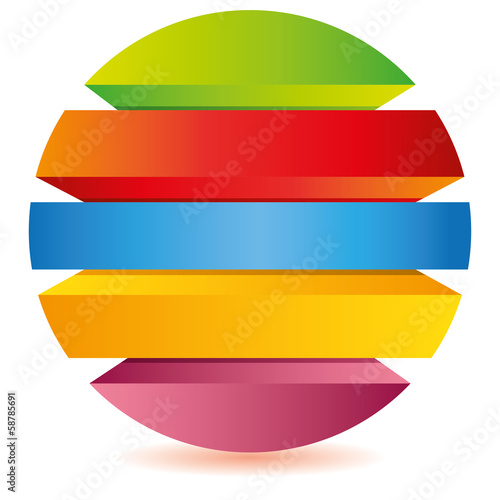 circle diagram for business template