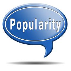 popularity