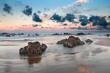 Playa de Trengandin, Noja 01