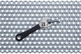Adjustable spanner with a bolt and nut