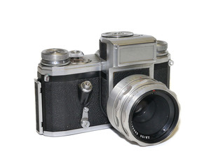 alte vintage retro fotokamera
